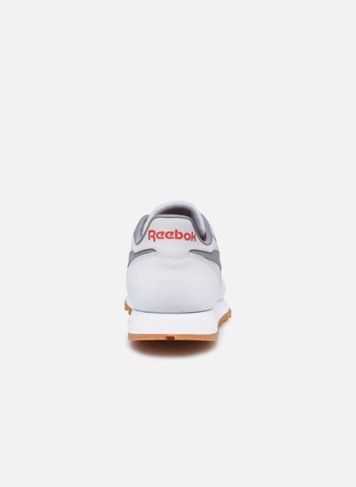 Baskets Reebok Cl Lthr M Blanc vue droite