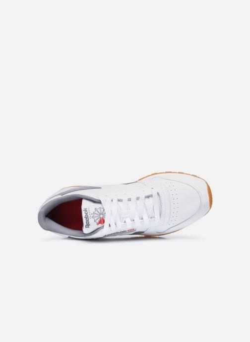 Baskets Reebok Cl Lthr M Blanc vue gauche