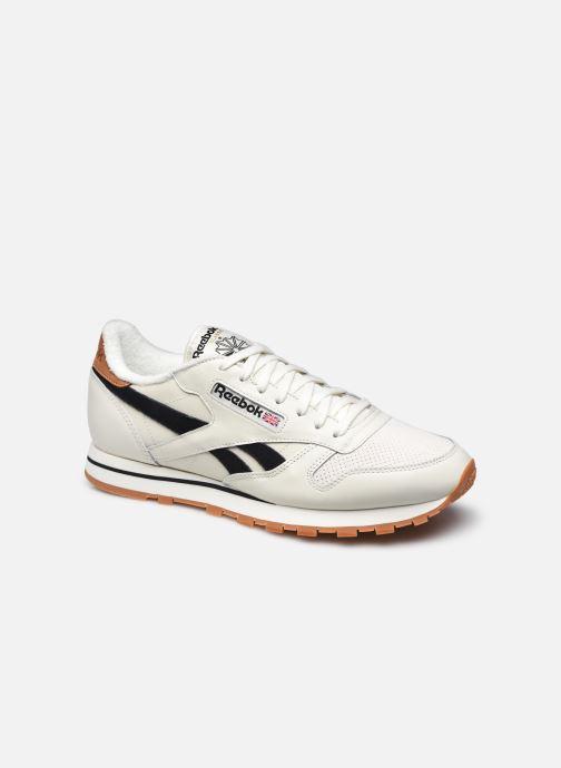 Sneakers Reebok Cl Lthr M Wit detail