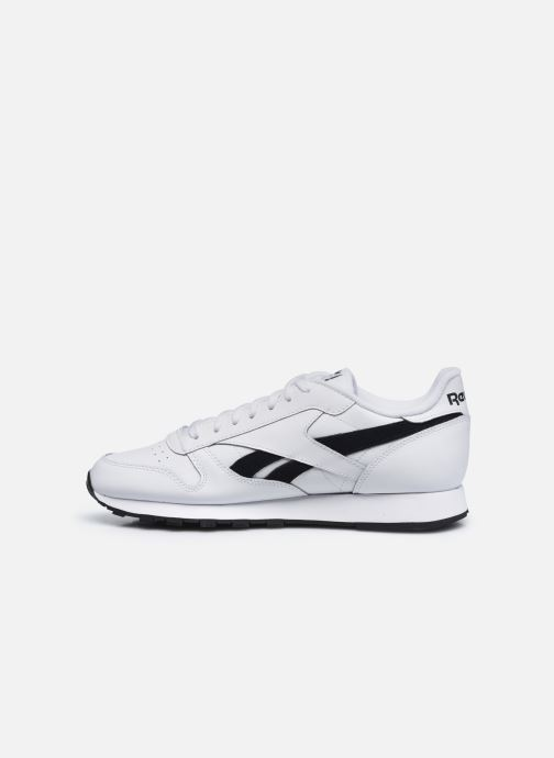 Sneaker Reebok Cl Lthr Mu weiß ansicht von vorne