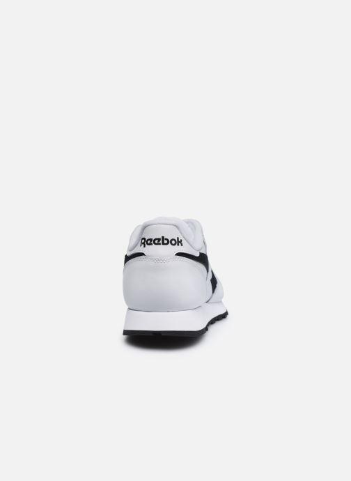 Sneaker Reebok Cl Lthr Mu weiß ansicht von rechts