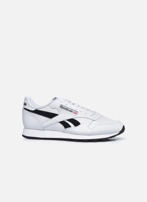 Sneaker Reebok Cl Lthr Mu weiß ansicht von hinten