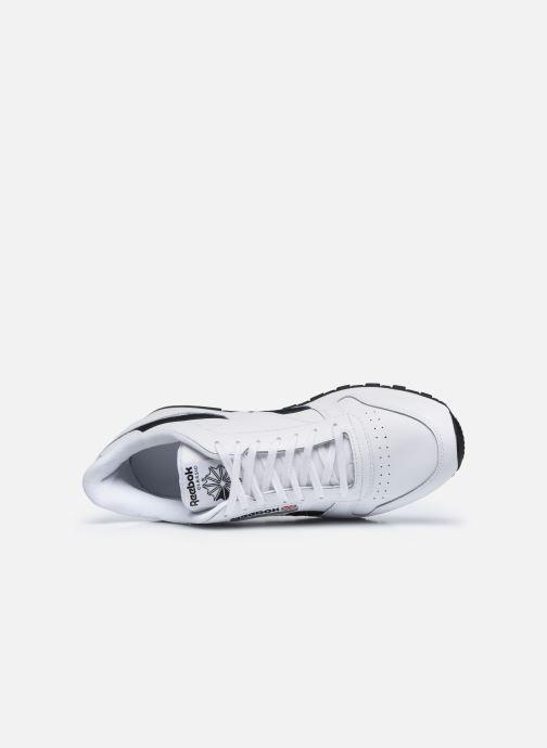 Sneaker Reebok Cl Lthr Mu weiß ansicht von links