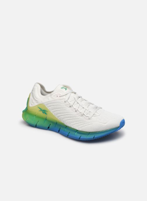 Baskets Reebok Zig Kinetica (Ree)Cycled Blanc vue détail/paire