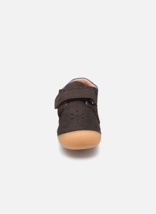 Boots en enkellaarsjes Aster Kimousi Bruin model