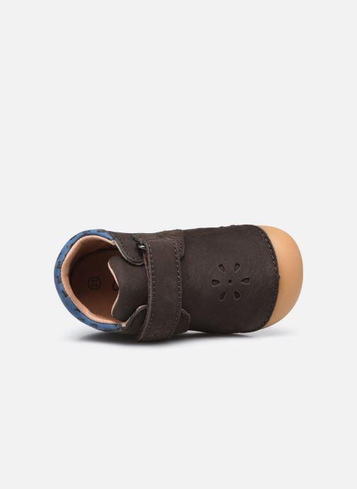 Boots en enkellaarsjes Aster Kimousi Bruin links