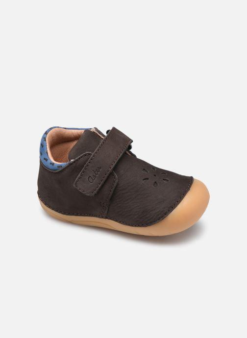 Boots en enkellaarsjes Aster Kimousi Bruin detail