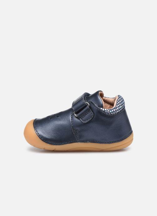 Bottines et boots Aster Kimousi Bleu vue face
