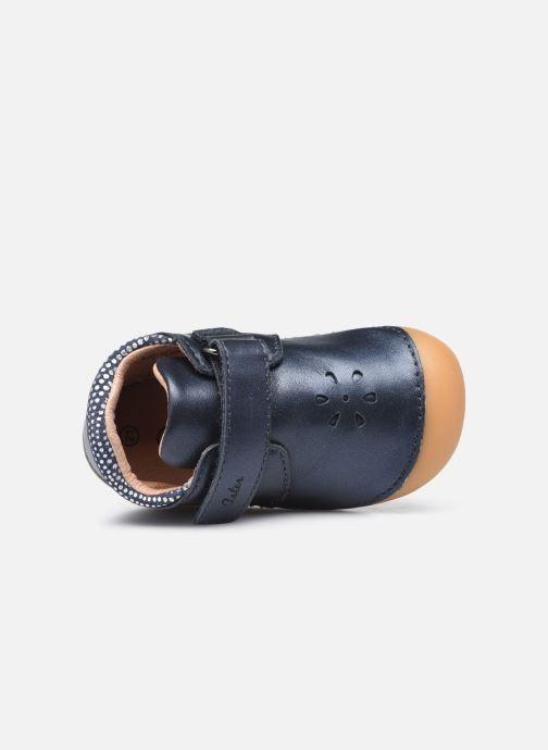 Bottines et boots Aster Kimousi Bleu vue gauche