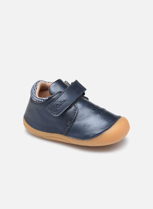 Bottines et boots Aster Kimousi Bleu vue détail/paire