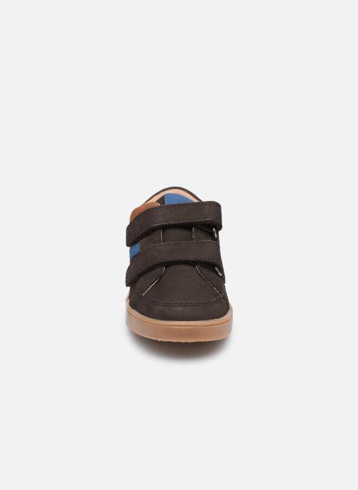 Baskets Aster Woukro Marron vue portées chaussures