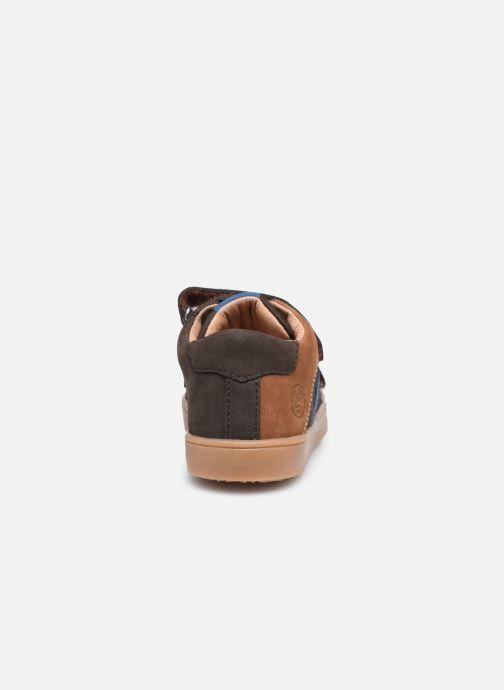 Sneakers Aster Woukro Bruin rechts