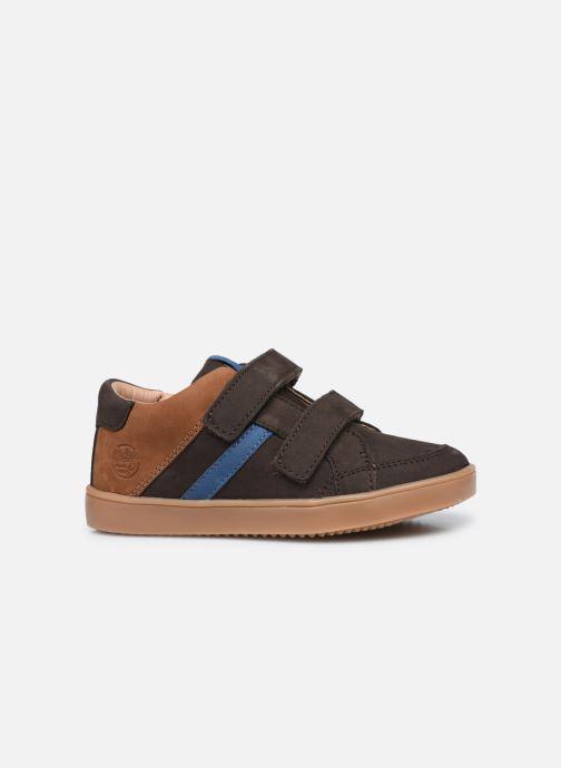 Sneakers Aster Woukro Bruin achterkant