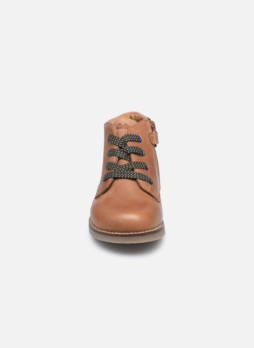 Boots en enkellaarsjes Aster Selas Bruin model