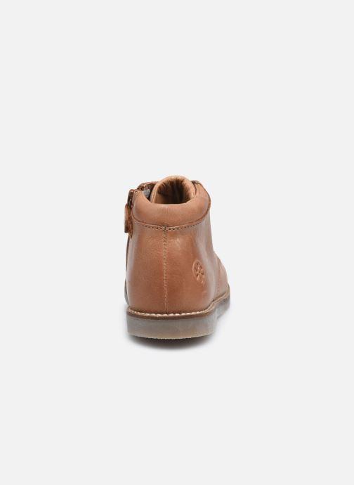 Bottines et boots Aster Selas Marron vue droite