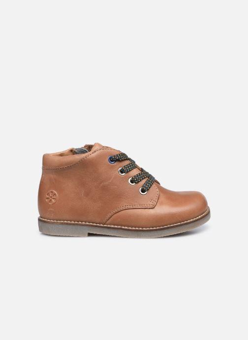 Boots en enkellaarsjes Aster Selas Bruin achterkant