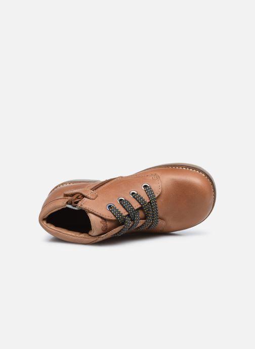 Bottines et boots Aster Selas Marron vue gauche