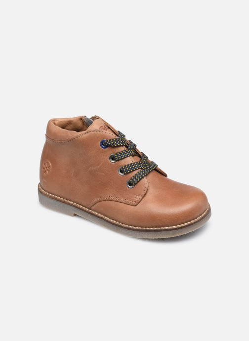 Boots en enkellaarsjes Aster Selas Bruin detail