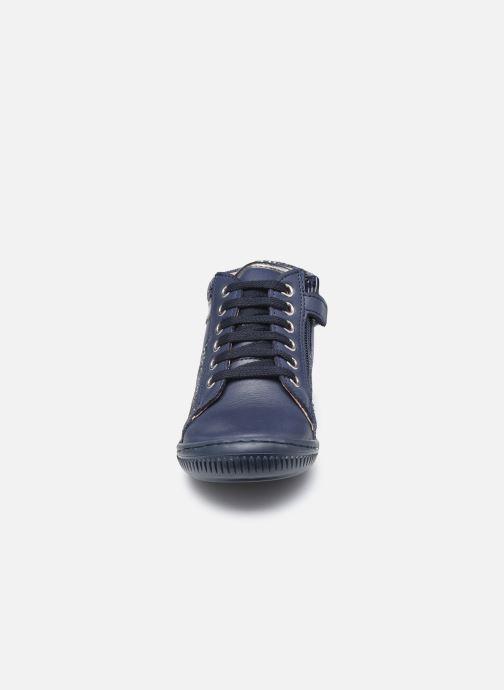 Bottines et boots Aster Fransham Bleu vue portées chaussures