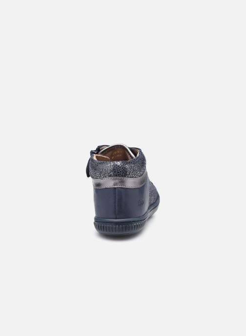 Bottines et boots Aster Fransham Bleu vue droite