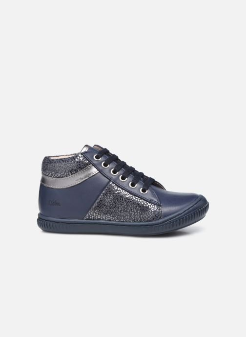 Bottines et boots Aster Fransham Bleu vue derrière