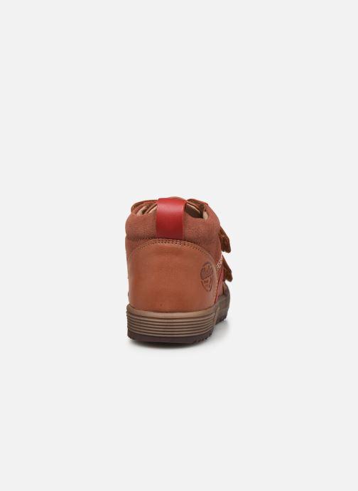 Sneakers Aster Bigbo Bruin rechts