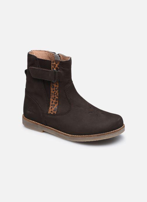Boots en enkellaarsjes Aster Saveta Bruin detail