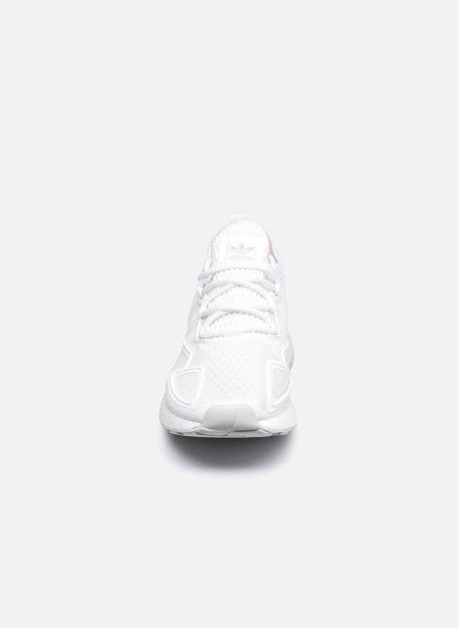 Baskets adidas originals Zx 2K Boost Blanc vue portées chaussures