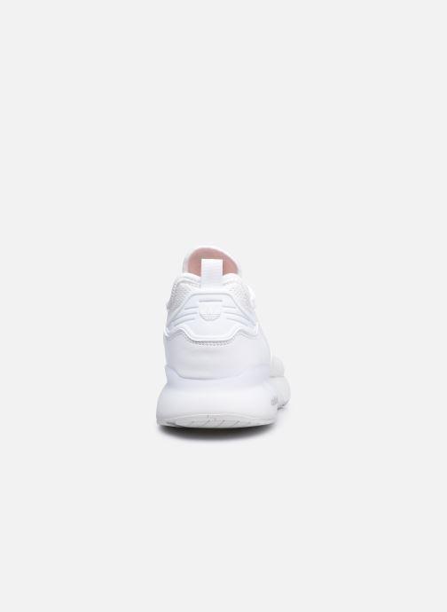 Baskets adidas originals Zx 2K Boost Blanc vue droite