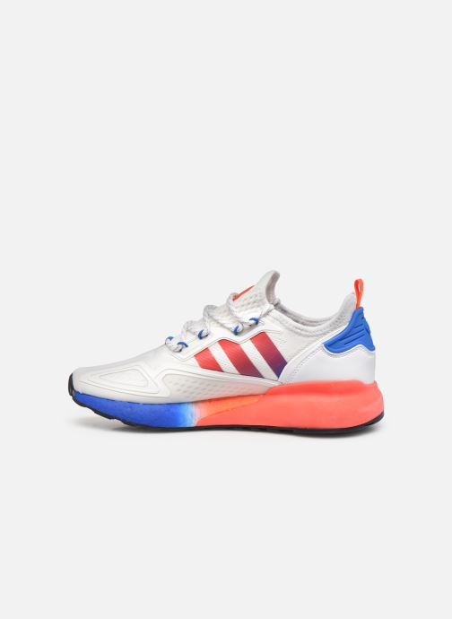 Sneakers adidas originals Zx 2K Boost Hvid se forfra