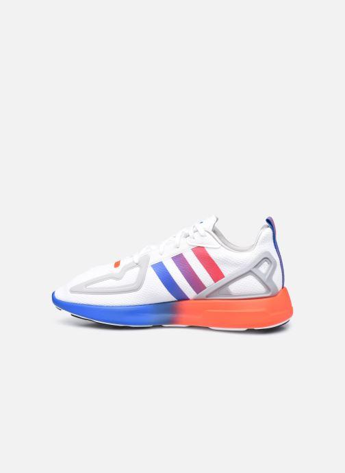Baskets adidas originals Zx 2K Flux Gris vue face