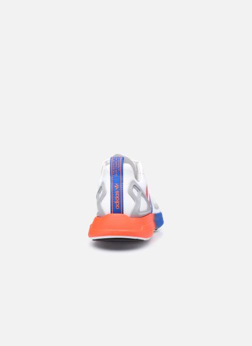 Baskets adidas originals Zx 2K Flux Gris vue droite