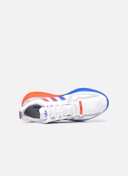 Baskets adidas originals Zx 2K Flux Gris vue gauche