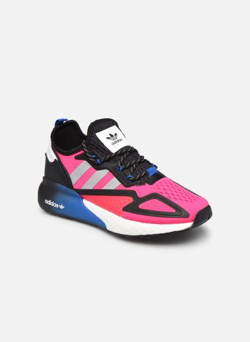 Deportivas adidas originals Zx 2K Boost W Rosa vista de detalle / par