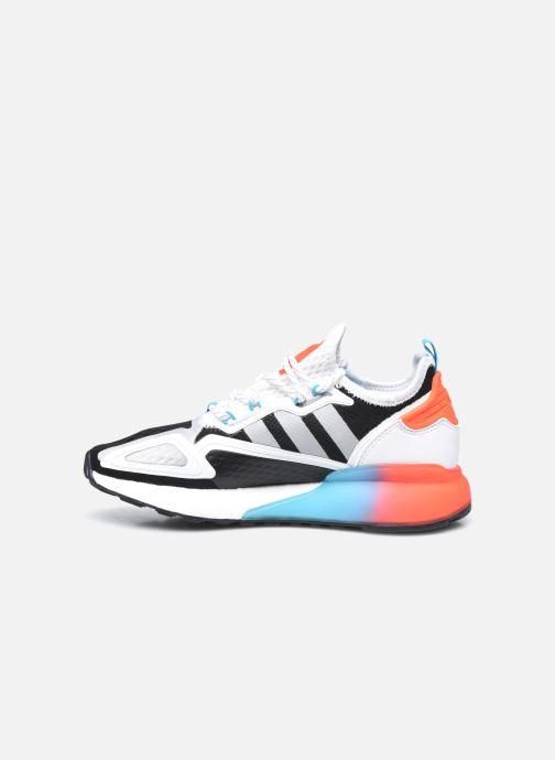 Sneaker adidas originals Zx 2K Boost W schwarz ansicht von vorne