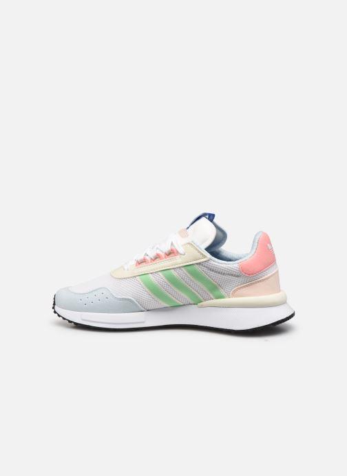 Sneaker adidas originals Retroset weiß ansicht von vorne