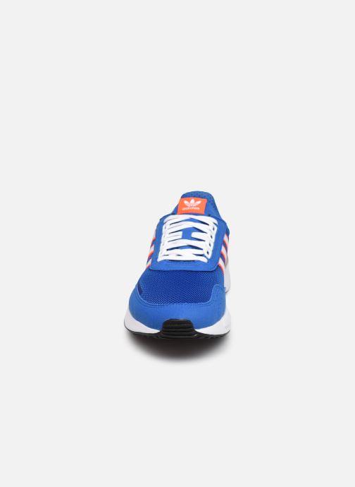 Sneaker adidas originals Retroset blau schuhe getragen