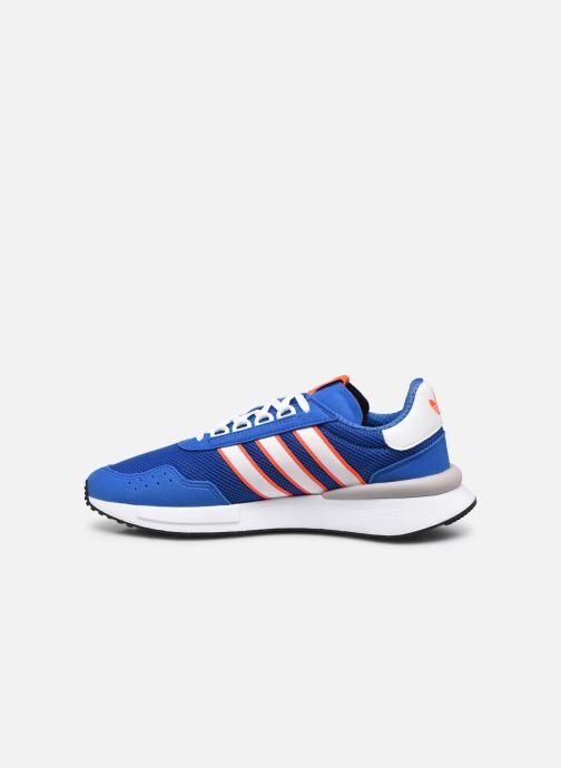 Sneaker adidas originals Retroset blau ansicht von vorne