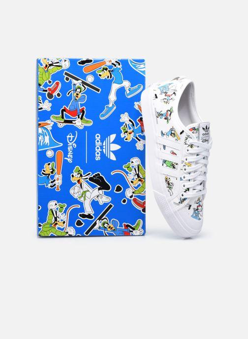 Sneaker adidas originals Nizza X Disney Sport Goofy weiß 3 von 4 ansichten