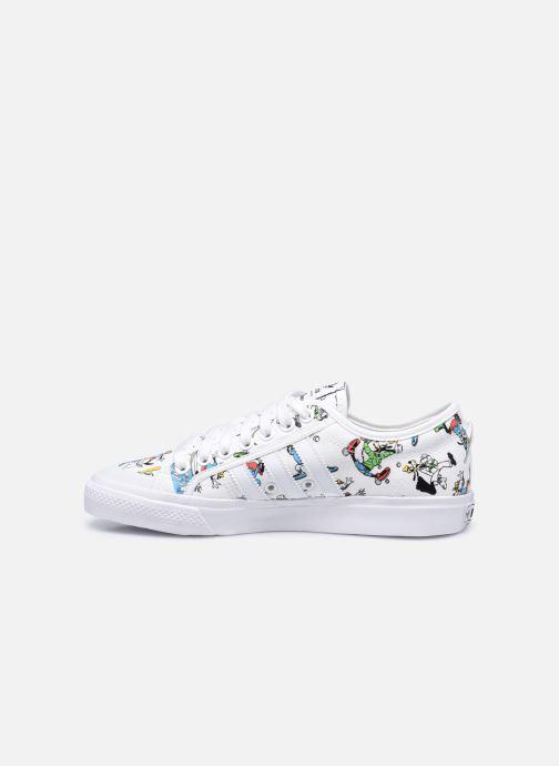 Sneaker adidas originals Nizza X Disney Sport Goofy weiß ansicht von vorne