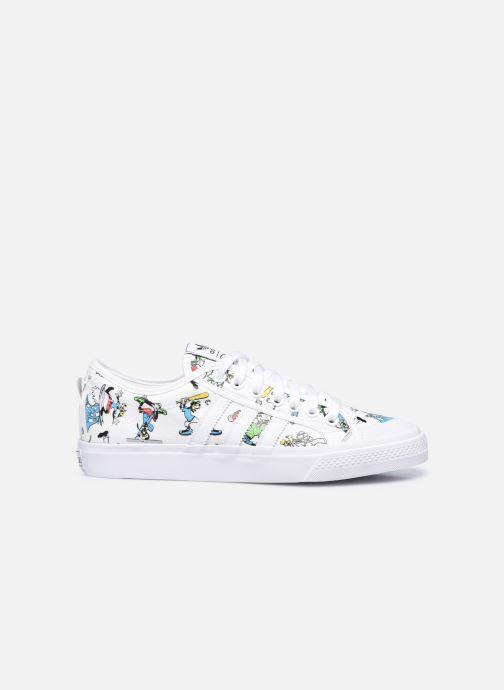 Sneaker adidas originals Nizza X Disney Sport Goofy weiß ansicht von hinten