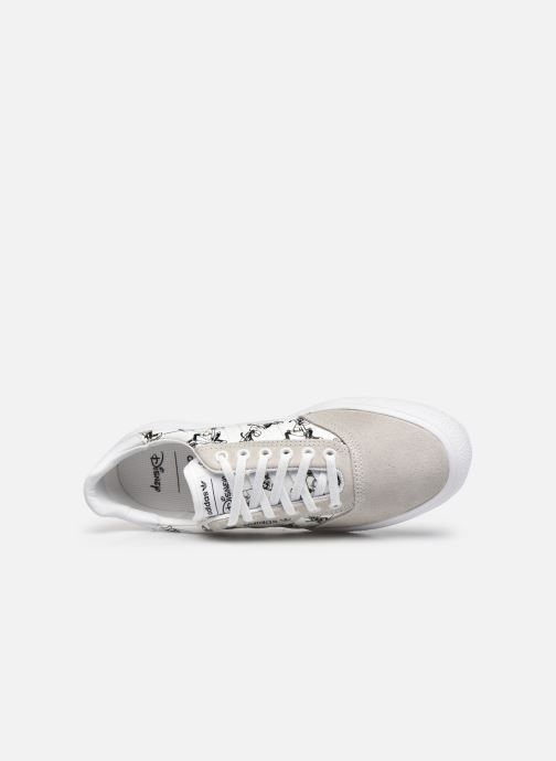 Sneaker adidas originals 3Mc X Disney Sport Goofy weiß ansicht von links