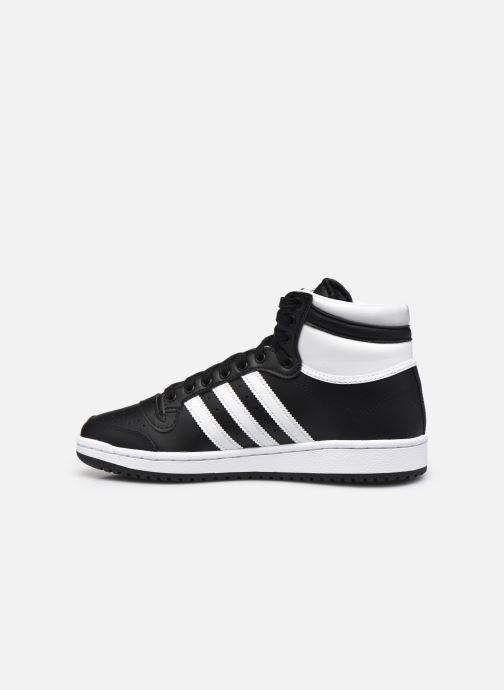 Sneaker adidas originals Top Ten schwarz ansicht von vorne