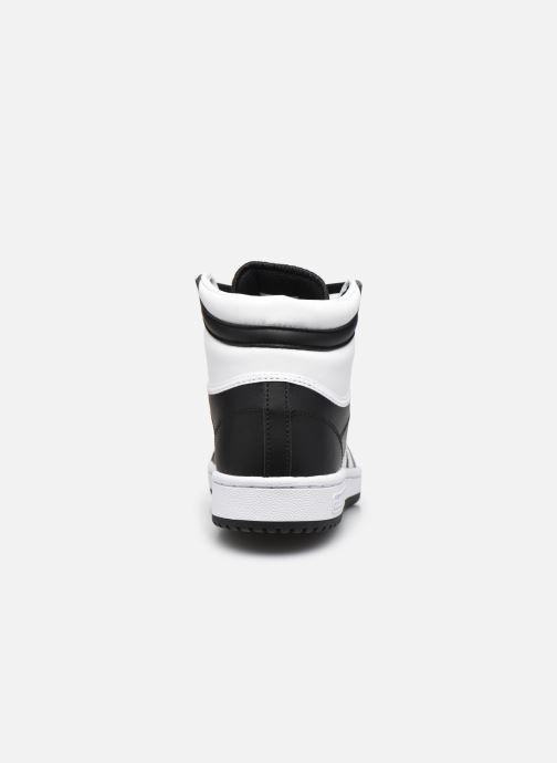 Sneaker adidas originals Top Ten schwarz ansicht von rechts