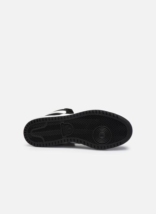 Sneaker adidas originals Top Ten schwarz ansicht von oben