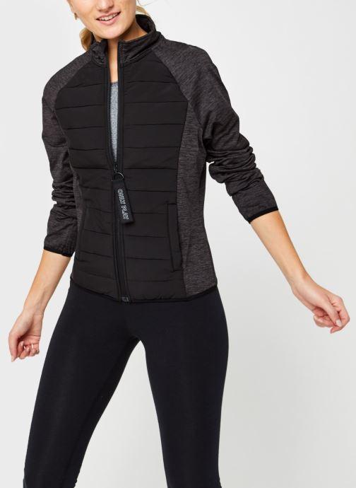 Vêtements Only Play Onpjolet Ls Woven Padded Short Jacket Noir vue détail/paire
