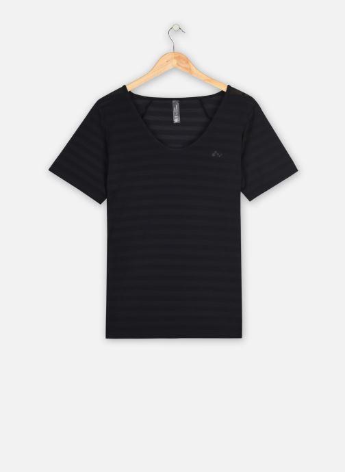 Vêtements Only Play Onpsue V-Neck Ss Training Tee-Curvy Noir vue détail/paire