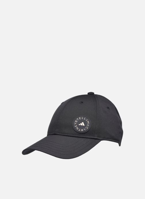 Kappe adidas by Stella McCartney Stella Cap schwarz ansicht von vorne