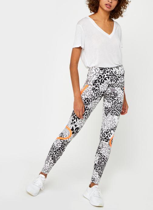 Vêtements adidas by Stella McCartney Truepace Tightp Blanc vue bas / vue portée sac