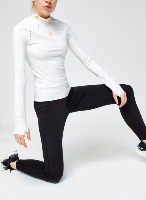 Vêtements adidas by Stella McCartney Truepur Ls Blanc vue bas / vue portée sac